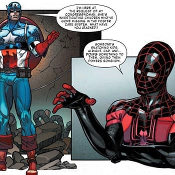 Do House Democrats Now Have Captain America Powers Next Weeks Miles Morales Spider-Man #3 (Preview)