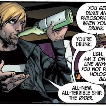 Drunk Dialing Kitty Pryde at 4AM in Next Weeks Guardians of the Galaxy #2 (Preview)