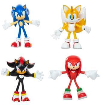 SEGA and JAKKS Pacific Enter New Deal for Sonic The Hedgehog Toys