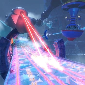 SEGA Reveals Frozen Junkyard Stage for Team Sonic Racing