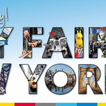 Toy Fair New York Banner