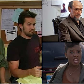 Cast Set for Always Sunny Rob McElhenney Charlie Day Apple Comedy Series