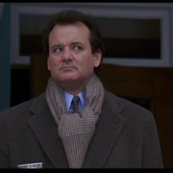 Bill Murray in Groundhog Day (1993). Image provided by Sony Pictures