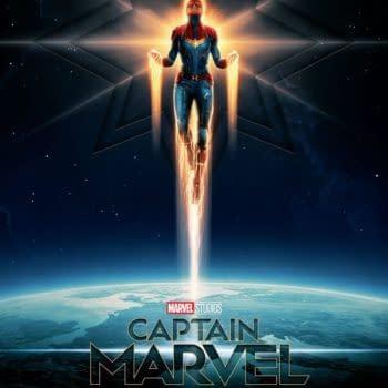 Check out Matt Ferguson's 'Captain Marvel' Poster!