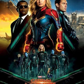 Vibrant and Badass- International Captain Marvel Poster