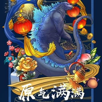 4 Gorgeous Godzilla: King of the Monsters Posters for Lunar New Year