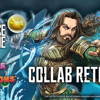 The Justice League Returns to Puzzles & Dragons Next Week