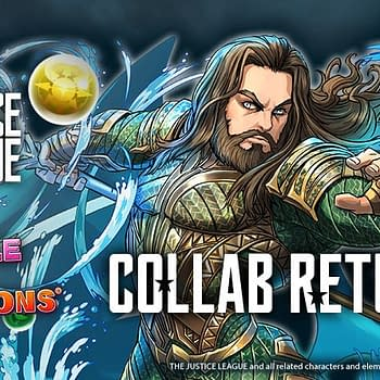 The Justice League Returns to Puzzles &#038 Dragons Next Week