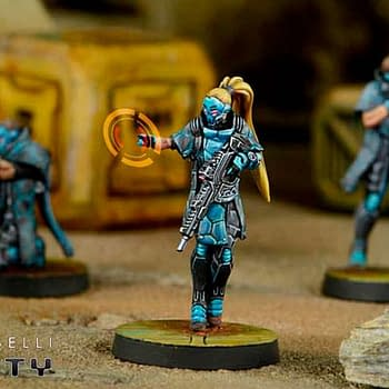Corvus Belli and Vallejo Hobby Colors sign a new collaboration agreement