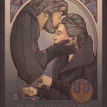 Beautiful Art of Mark Hamill's Favorite 'Star Wars: The Last Jedi' Moment