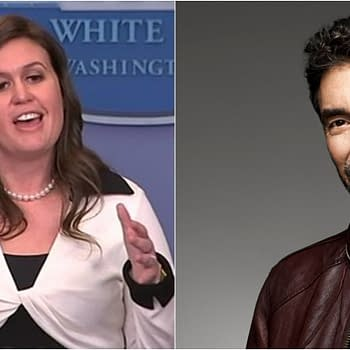 Big Bang Theory Creator Chuck Lorre Doubts Sarah Huckabee Sanders Has God on Speed Dial