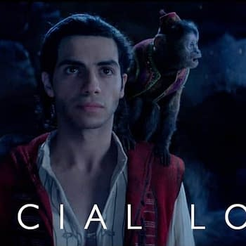 New Special Look at the Live-Action Remake of Aladdin Now with a Blue Will Smith