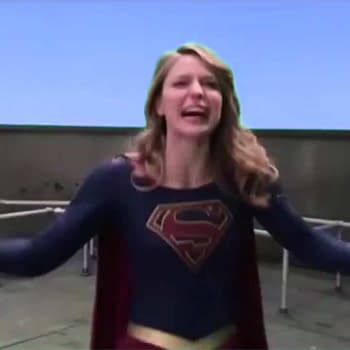 Supergirl Melissa Benoist Does Her Best Tommy Wiseau The Room Impression