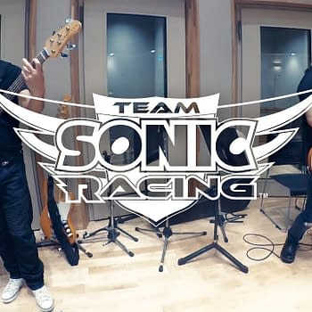 SEGA Releases a New Music Video From Team Sonic Racing