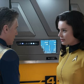 Star Trek: Discovery Season 2: Anson Mount Rebecca Romijn Departing Series