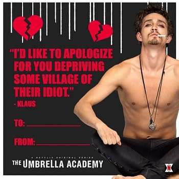 The Umbrella Academy: Valentines for Your Super Messed-Up Loved Ones