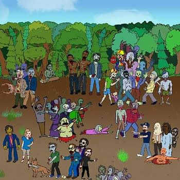 The Walking Deads Wheres Waldo Spoof a Bit More Disturbing Than We Expected