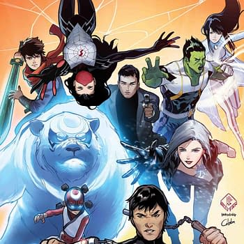 New Agents of Atlas Series Joins War of the Realms by Greg Pak and Gang-Hyuk Lim
