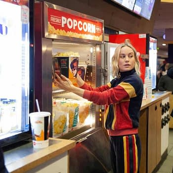 Brie Larson Surprises Fans at Captain Marvel Showing $455 Million Global Opening