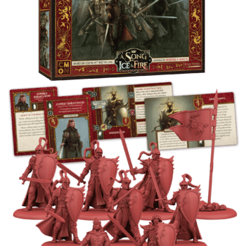 King Joffrey Takes His Place in CMON's 'Song of Ice and Fire' Game