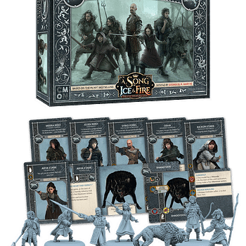 CMON Releases Stark Heroes 2 Details for Song of Ice and Fire Game