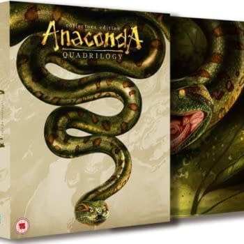 Anaconda Quadrilogy Blu Ray Set