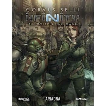 Modiphius Aims for New 'Infinity' RPG Releases in April