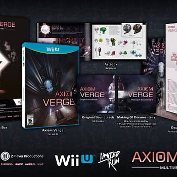The Physical Wii U Version of Axiom Verge is Finally Being Released