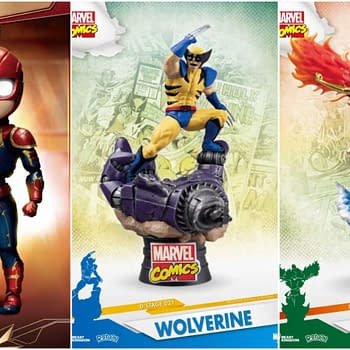 Beast Kingdom Previews Exclusives Including X-Men and Captain Marvel Up For Order