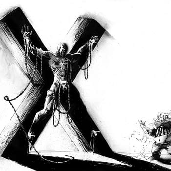 Spawn Gets Crucified for Spawn #295