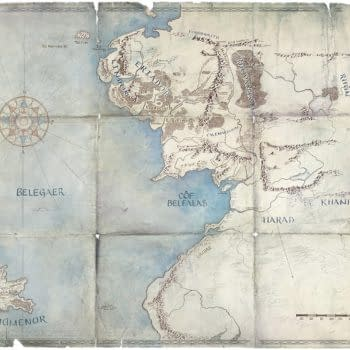 Amazon's 'Lord of the Rings' Series Teases/Confirms The Second Age Setting?