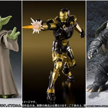 Three New Figuarts Preorders Are Up: Yoda Iron Man and Gamera
