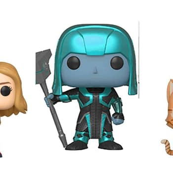 Three New Captain Marvel Pops Coming Soon From Funko