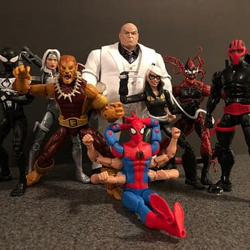 Lets Take a Look at the Marvel Legends Kingpin BAF Spider-Man Wave