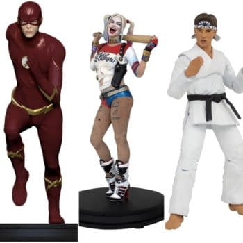 Icon Heroes Releasing Three New DC Statues, Karate Kid Figures Later This Year
