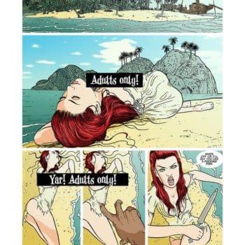 "Lady Redbeard: Justin Gray Launches ""Adult"" Pirate Comic on Kickstarter"