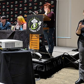 When Jason Latour Got to Tell the Spider-Verse Movie Producers How to Do Spider-Gwen Right &#8211 the Spider-Man Panel at ECCC