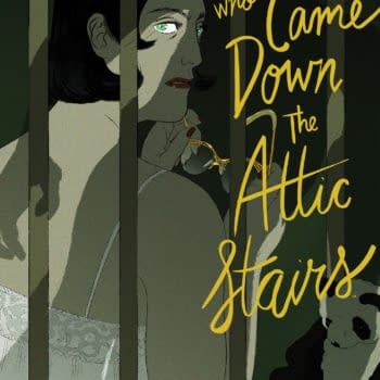 BOOM! Announces The Man Who Came Down the Attic Stairs by Celine Loup