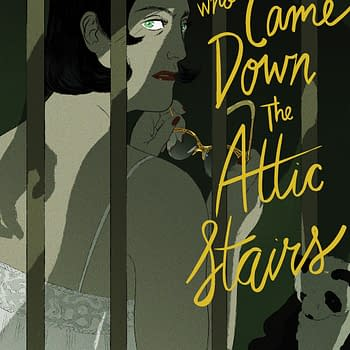 BOOM Announces The Man Who Came Down the Attic Stairs by Celine Loup