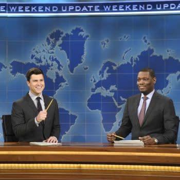 'WWE Raw': SNL's Michael Che, Colin Jost Invade Wells Fargo Center Monday Night