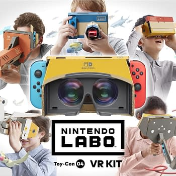 Nintendo's Latest Labo Kit Explores Simple VR Gaming Experiences