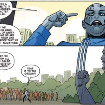 The People of Age of X-Man Know What to Do with a Wolverine Statue in Marvelous X-Men #2