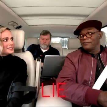 Brie Larson, Samuel L. Jackson Do Lie Detector Tests on Carpool Karaoke