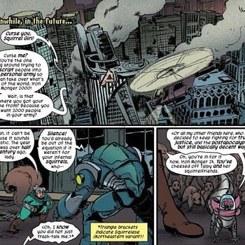 Supermans Motto Gets a Post-Apocalyptic Squirrelese Reboot in Unbeatable Squirrel Girl #42