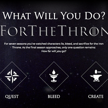 Game of Thrones Unveils Worldwide Quest For The Throne