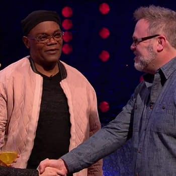 When Bryan Hitch Met Samuel L Jackson the Man He Made Nick Fury On The Jonathan Ross Show