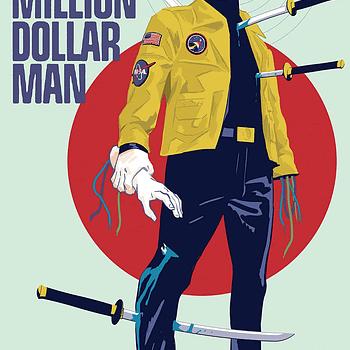 Steve Austin Vs. Ninjas and Nukes in Six Million Dollar Man #1 (REVIEW)