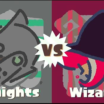 The Next Splatoon 2 Splatfest Will Have Knights Fighting Wizards
