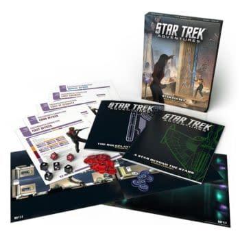 """Boldly Go"" with Fantastic Star Trek: Adventures RPG Starter Set"