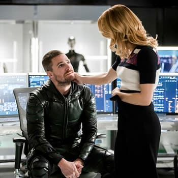 Arrow Star Stephen Amell Posts Heartfelt Response to Emily Bett Rickards Departure